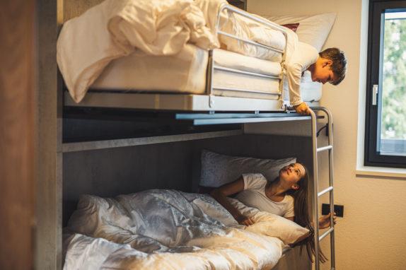 austria aparthotel fiss stockbett