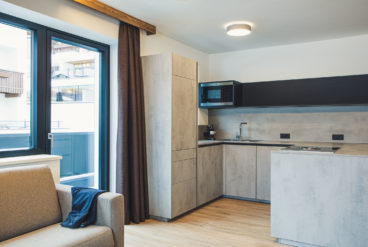 austria aparthotel fiss küche