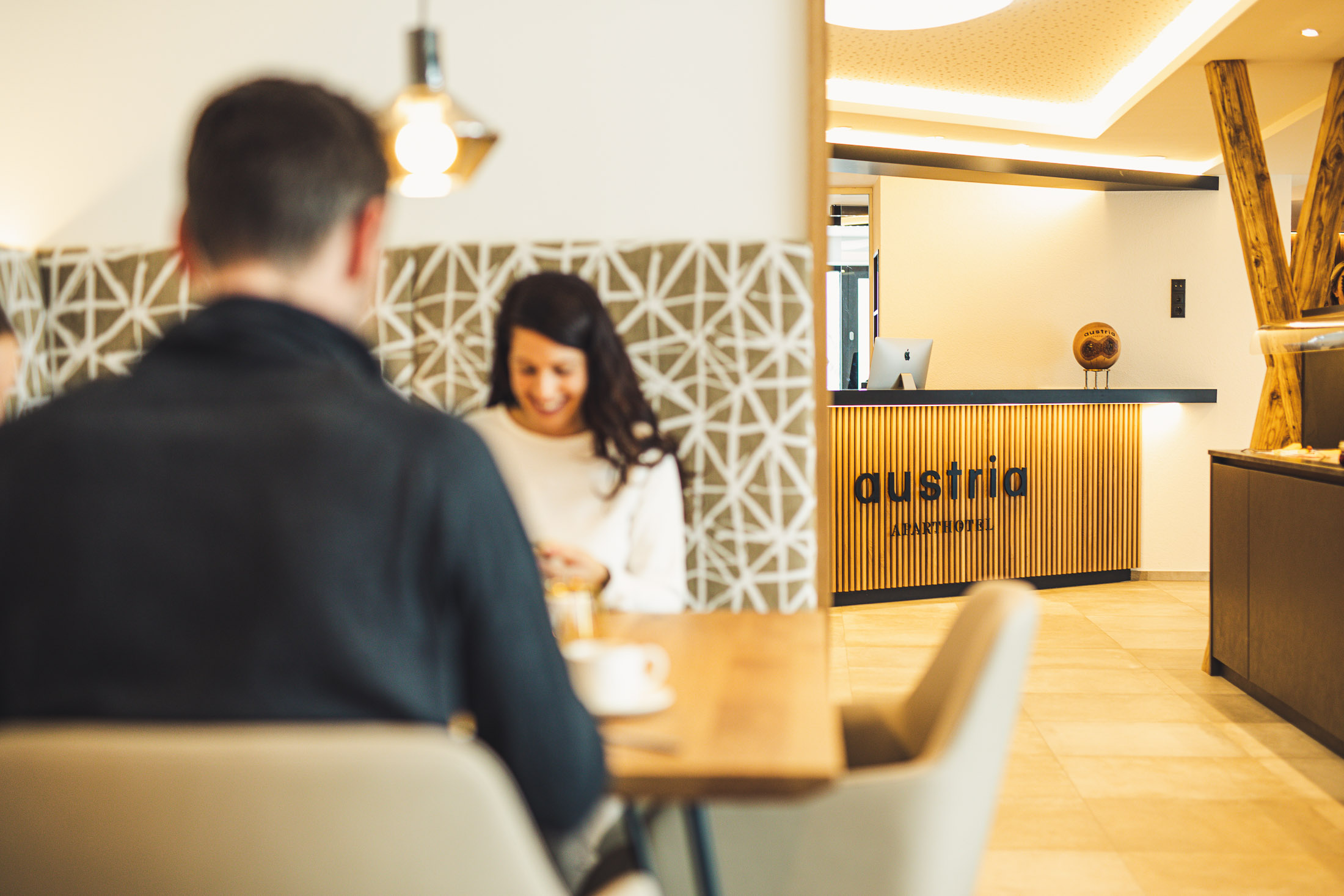 austria aparthotel fiss eingang